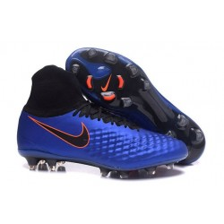 Nike Magista Obra 2 FG New Men's Soccer Boots Deep Blue Black