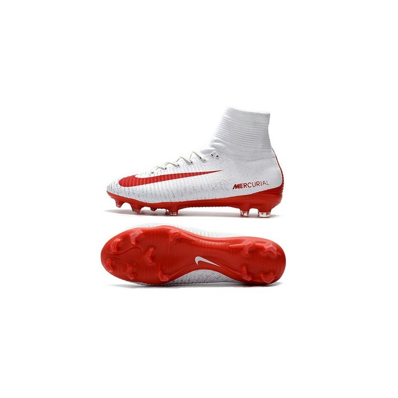 Nike soccer cleats mercurial red