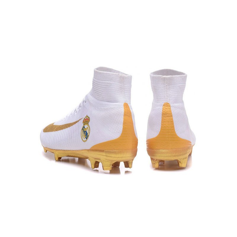 sports shoes 2312c 9004a Nike Mercurial Superfly 5 FG New Soccer Cleats Real Madrid FC