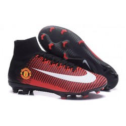 Nike Mercurial Superfly V FG Firm Ground Manchester United Football Club Boot