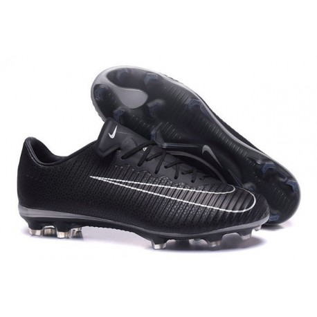 Nike Mercurial Vapor 11 FG Men Football Cleat Black White