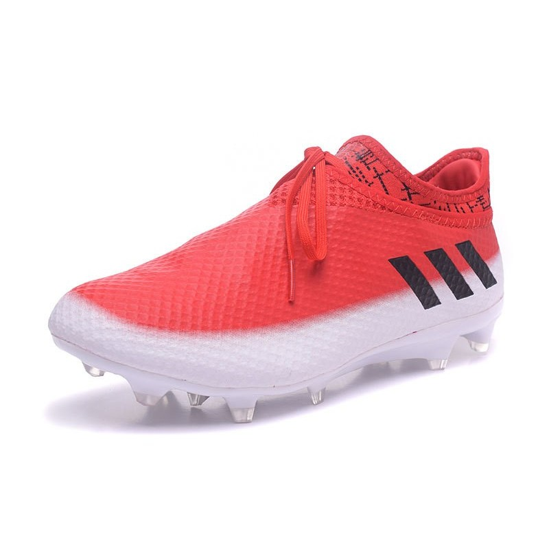 best service 36883 58f5d adidas Messi 16+ Pureagility FGAG New Soccer Boots Red White