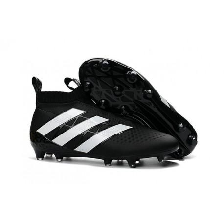 detailing a4d9e 16ab6 adidas ACE 16+ Purecontrol FG News Soccer Boot Black White
