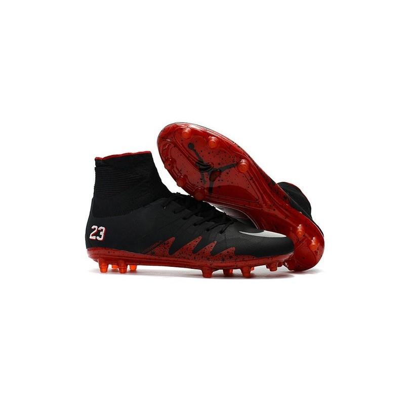 9e28c1025 Neymar X Jordan NJR Nike Hypervenom Phantom II FG Soccer Boots Black Red  Maximize. Previous. Next