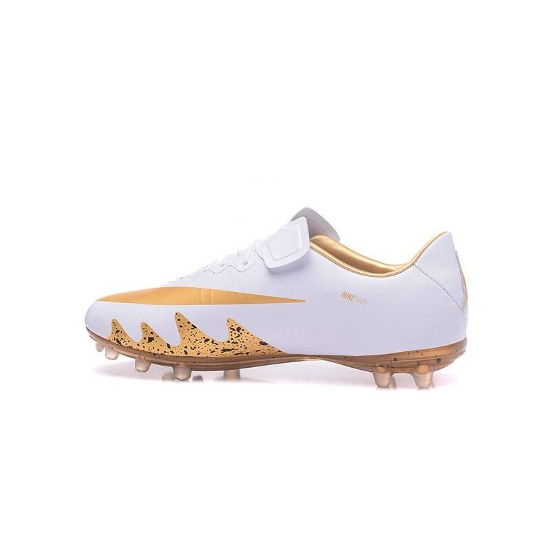 bce12cc37 Nike Hypervenom Phinish FG Neymar X Jordan Soccer Cleat White Gold  Maximize. Previous. Next