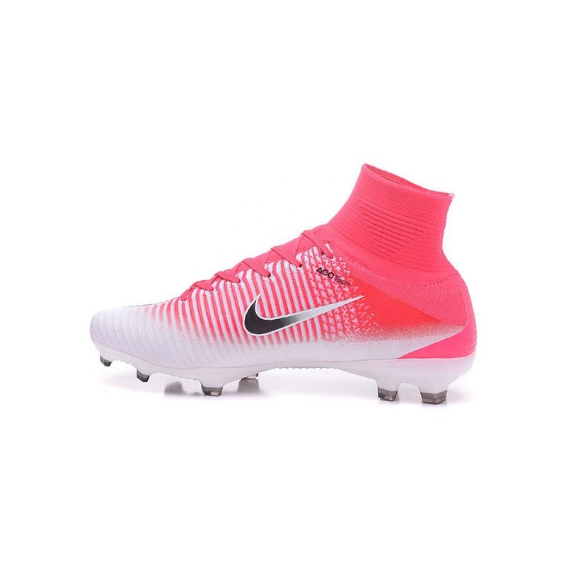 best loved 49795 17896 Nike Mercurial Superfly 5 FG News 2017 Cleats Pink White Black