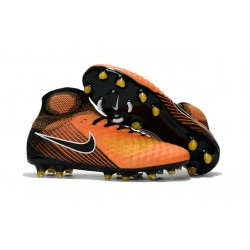 Nike Magista Obra II FG Firm Ground Men Cleat Orange Black