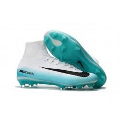Nike Mercurial Superfly 5 FG News 2017 Cleats White Blue Black