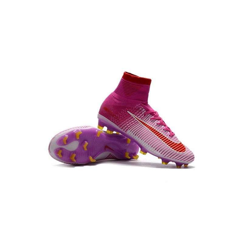 reputable site 2b99c 264f2 Nike Mercurial Superfly 5 FG News 2017 Cleats Pink Red