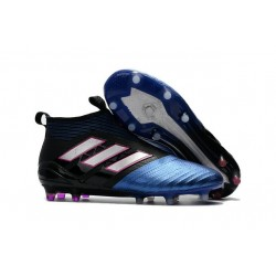 Top adidas ACE 17+ Purecontrol FG Soccer Cleats Blue Black White