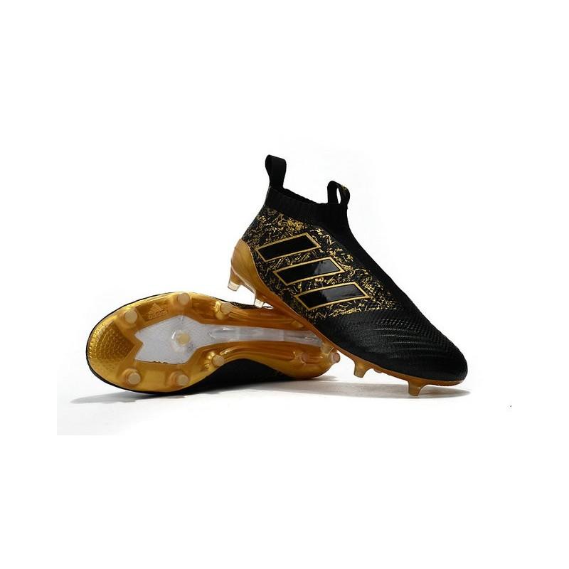 online retailer 4e998 1b4c0 Top adidas ACE 17+ Purecontrol FG Soccer Cleats Paul Pogba Capsule Black  Golden
