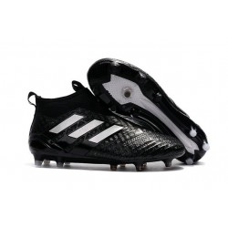 Top adidas ACE 17+ Purecontrol FG Soccer Cleats in Black White