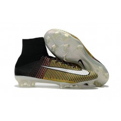 Nike Mercurial Superfly 5 FG News 2017 Cleats Yellow Black White