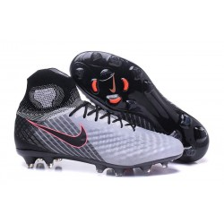Nike Magista Obra II FG Firm Ground Men Cleat Gray Black