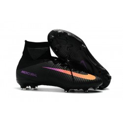 Nike Mercurial Superfly 5 FG News 2017 Cleats Black Orange