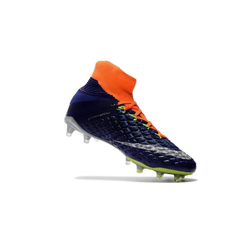 online retailer 54395 e6445 ... coupon code for nike hypervenom phantom iii df fg 2017 limited edition  soccer shoes orange blue