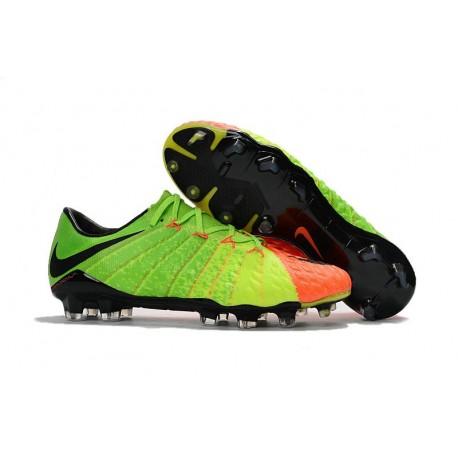 premium selection e544d 50c5b Nike 2017 Hypervenom Phantom III FG Firm Ground Low-cut Boots - Citrus  Green Orange