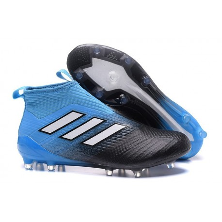 competitive price f7f04 19a91 Top adidas ACE 17+ Purecontrol FG Soccer Cleats Black Blue White