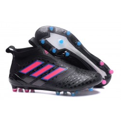 Top adidas ACE 17+ Purecontrol FG Soccer Cleats Core Black Pink