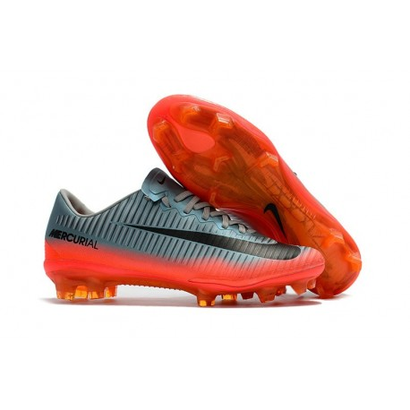 News Nike Mercurial Vapor XI FG ACC Soccer Shoes Cool Grey/ Metallic Hematite