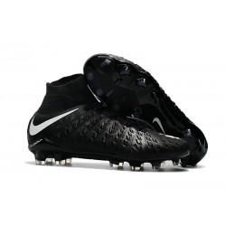 Nike Hypervenom Phantom 3 DF Men Firm-Ground Soccer Boots Black White