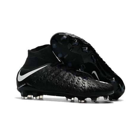 Nike Hypervenom Phantom 3 DF Men Firm-Ground Soccer Boots Black White