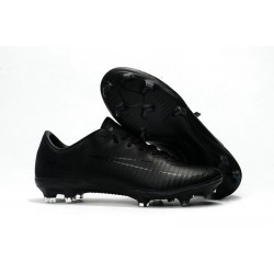 News Nike Mercurial Vapor XI FG ACC Soccer Shoes Full Black