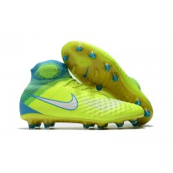 Nike Magista Obra II FG Firm Ground Men Cleat Volt Blue