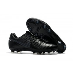 New 2017 Nike Tiempo Legend 7 FG Soccer Cleats - All Black