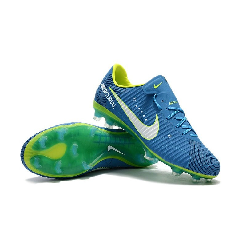neymar blue white 2017 nike mercurial vapor 11 fg football