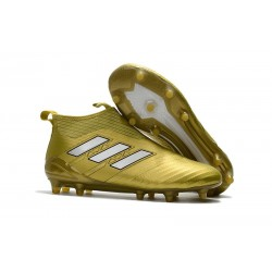 adidas ACE 17+ Purecontrol FG Top Soccer Boots - Gold White