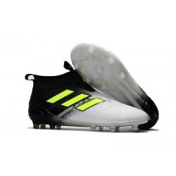 adidas ACE 17+ Purecontrol FG Top Soccer Boots - Black White Volt