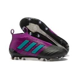 adidas ACE 17+ Purecontrol FG Top Soccer Boots - Purple Black Blue