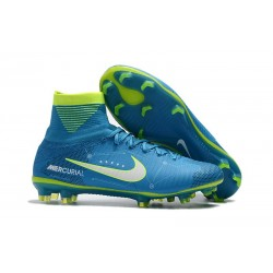 Top Nike Mercurial Superfly 5 FG Football Boot Neymar Blue