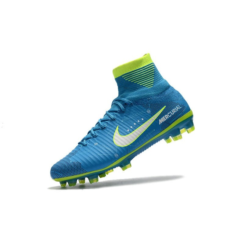 sale retailer d0396 13180 Top Nike Mercurial Superfly 5 FG Football Boot Neymar Blue