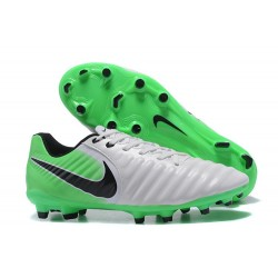 New 2017 Nike Tiempo Legend 7 FG Soccer Cleats - Green White Black