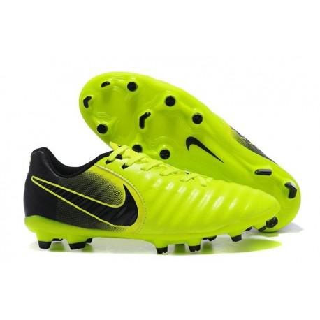 ec9ceaca6 Nike Tiempo Legend VII FG Kangaroo Leather Shoes - Green Black