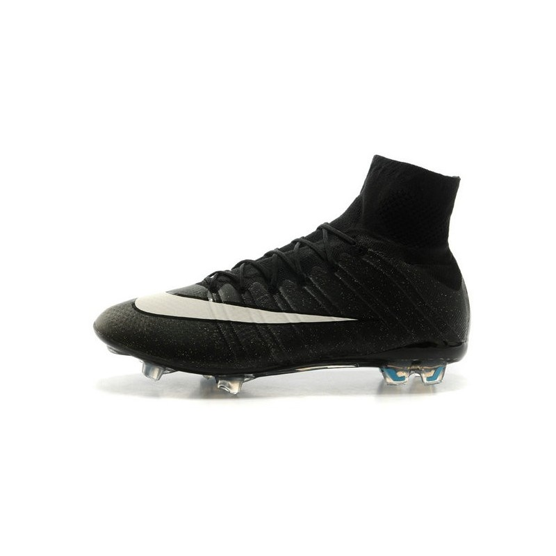 various colors a2345 5c6ac Nike Mercurial Superfly Iv FG Cristiano Ronaldo CR7 Firm Ground Soccer  Cleats Black White