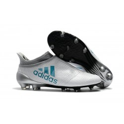 adidas X 17+ Purespeed FG Football Boots White Blue