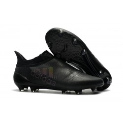 adidas X 17+ Purespeed FG Football Boots Black