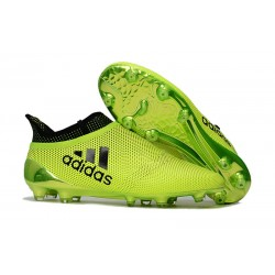 adidas X 17+ Purespeed FG Football Boots Green