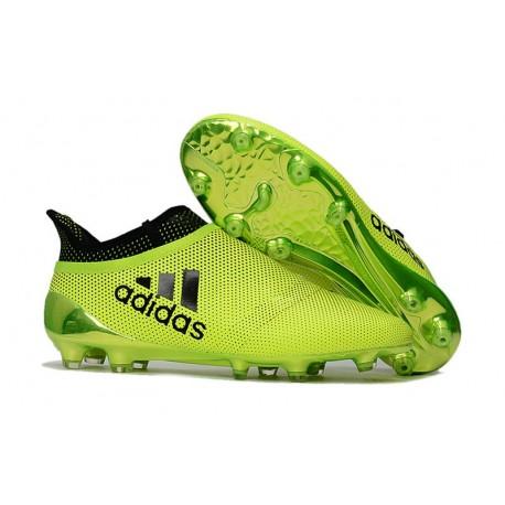adidas X 17+ Purespeed FG Football Boots Green