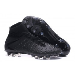 Nike Hypervenom Phantom 3 DF Men Firm-Ground Soccer Boots Full Black