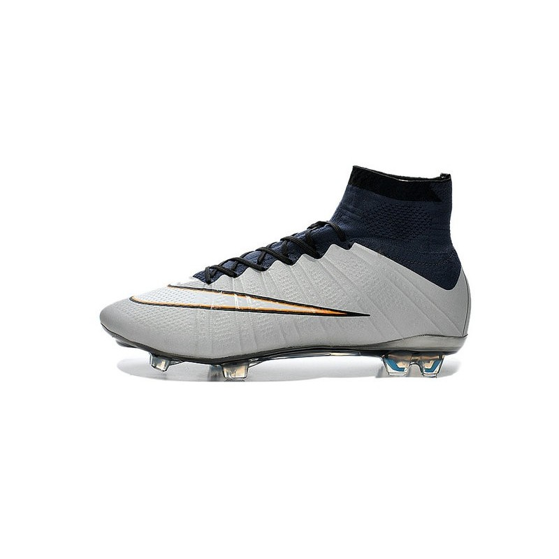 6d15979fb3b7 Nike Mercurial Superfly FG ACC CR7 Silver White Black New Shoes