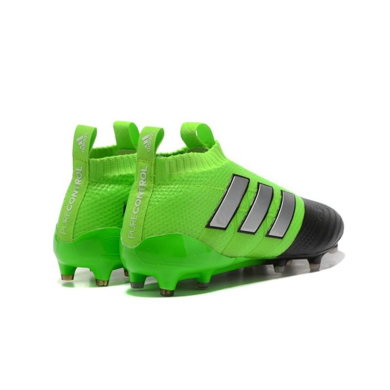 baaf56a2195 ... canada mens adidas ace 17 purecontrol fg 2017 soccer cleats green black  silver maximize. previous