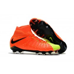 Nike Hypervenom Phantom III Dynamic Fit FG ACC - Orange Yellow