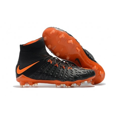 c9a4c53f900 Nike Hypervenom Phantom III Dynamic Fit FG ACC - Black Orange