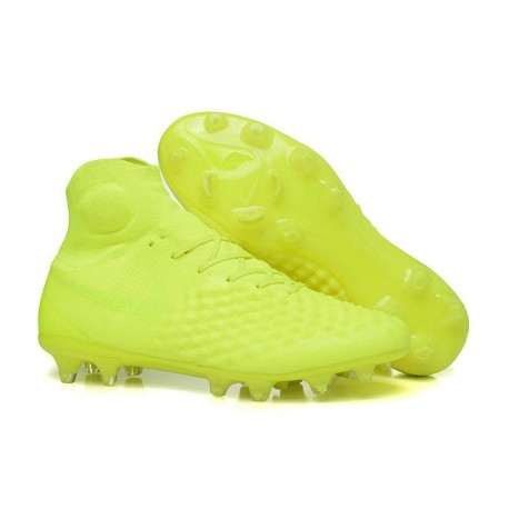 Nike Magista Obra 2 FG High Top Soccer Boots Full Volt