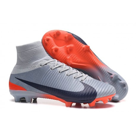 best service 37f9d 3b89d Nike Mercurial Superfly 5 FG New Football Boots Grey Black