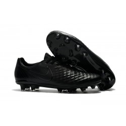 Nike Magista Opus II FG Firm Ground Football Shoes - Full Black